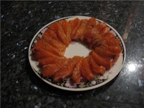 Свежая не мороженая красная рыба Салмон - 2