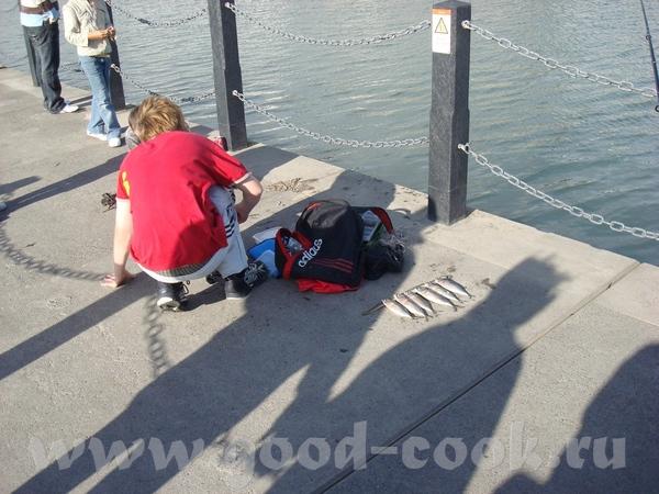 прогуливаясь по дамбе мы обнаружили местных рыбаков-любителей, и только я, рыбачка-Соня в душе, хот... - 3
