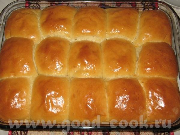 Пышные булочки в духовке рецепт с фото