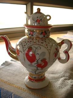 Неожиданно образовавшаяся коллекция чайничков - 4