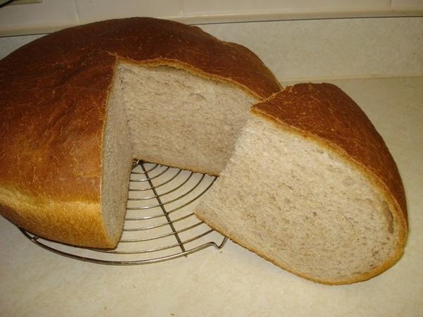 А вот и мой ПЕРВЫЙ хлеб на закваске - абсолютно без дрожжей - 2