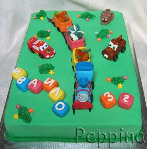 Девочки, простите, что не прокоментирую все тортики, а только с этой страницы- времени не хватит и... - 3