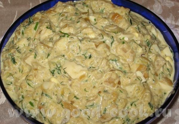 Салат из кабачков и сельдерея с жареным луком Кабачковый Салат - 2