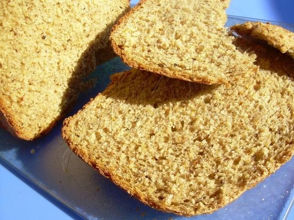 Это необыкновенно ароматный и сытный хлеб, я его готовила в для хлебопечки, на режиме 3 часа 30 мин... - 2