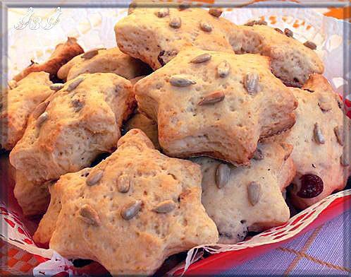 Мое сегодняшнее печенье Печенье с изюмом и семечками На 20 штук - 2 стакана муки - 1 чайная ложка р...