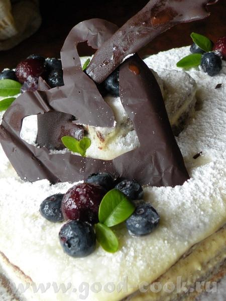 Я хочу предложить такой тортик с голубикой или как у нас называют ,,Ягода американская,, СНЕЖНОЕ СЕ... - 2