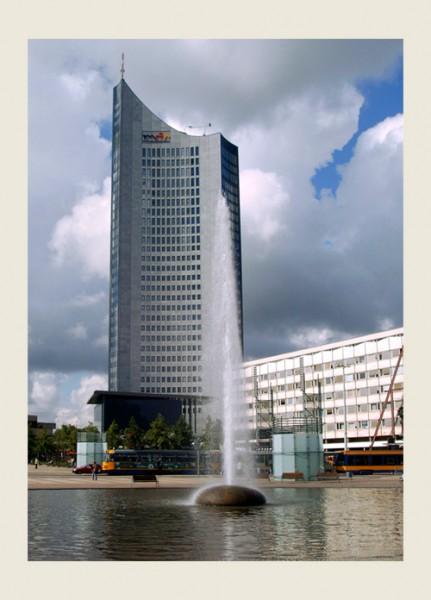 Мой Лейпциг Университет опера жд-вокзал