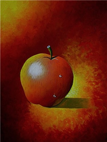 Ну вот мое яблоко