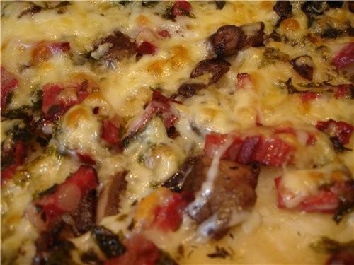 А у нас уже и пицца подоспела - 2