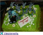 торт лунтик торт ну погади с зайчатами торт свадебное сердце с розами и кольцами - 5