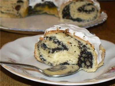 """На сладкое были фрукты, творожно-вишневый торт """"Очарование"""" от Ирины Кутовой, и Рулет 'Маковое... - 2"""