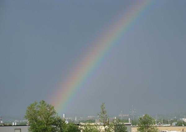 Еще небо в рябчик и закаты радуга - 6