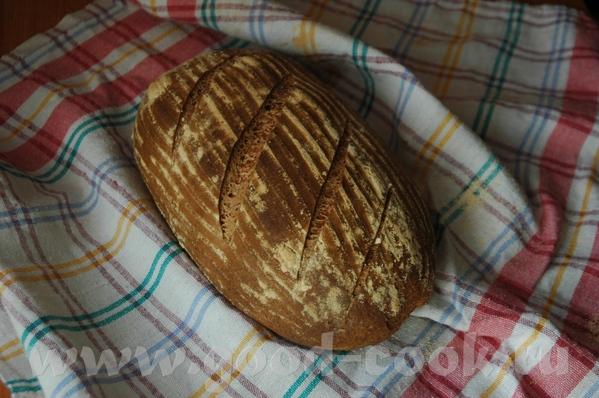 Испекла хлеб новый