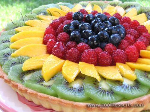Предлагаю вам лёгкий, как в приготовлении, так и в поедании, фруктовый пирог