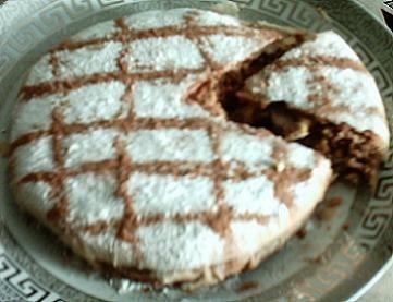 По просьбе девочек, хочу познакомить вас с марокканским пирогом