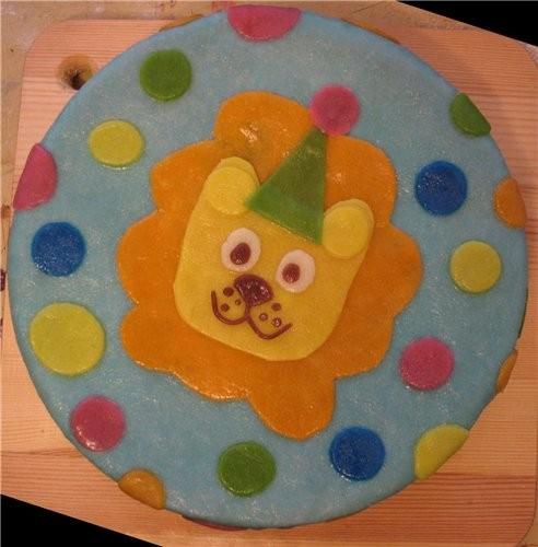 А вот мой тортик