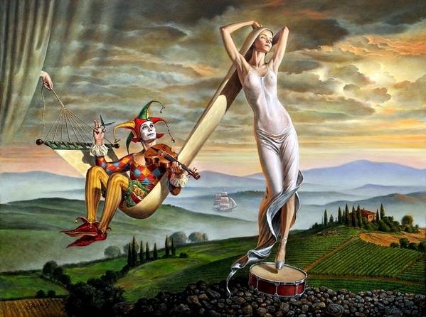 А вот такое как Михаил Хохлачев ============ Реальность, изысканное ощущение мира, богатая фантазия - 3