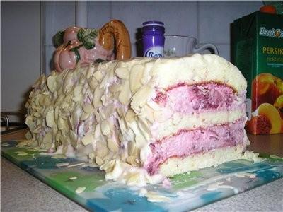 """ещё один клубни4ный торик """"Торт с клубничным муссом и белым шоколадом"""" от belochka с Cook-Talk ,о4е... - 2"""