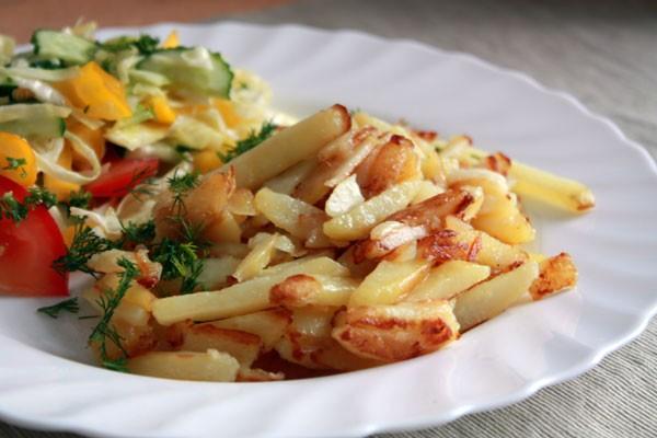 Жареная картошка или как жарить картошку дома