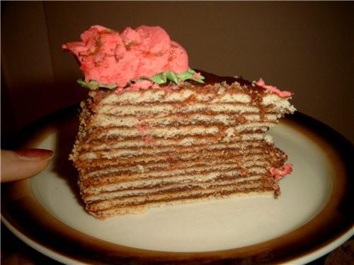 Этот торт я делала ещё в нач - 2