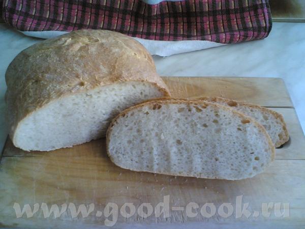 ХЛЕБ ПШЕНИЧНЫЙ НА СПЕЛОМ ТЕСТЕ (самозаквасочный) Закваску я сделала точно так же как у Viki c хлебо... - 3