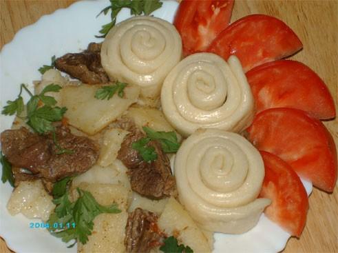 Штруделя с мясом пошаговый с фото