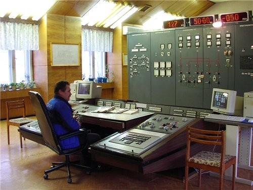 сейчас мы внутри Майнской ГЭС - 2