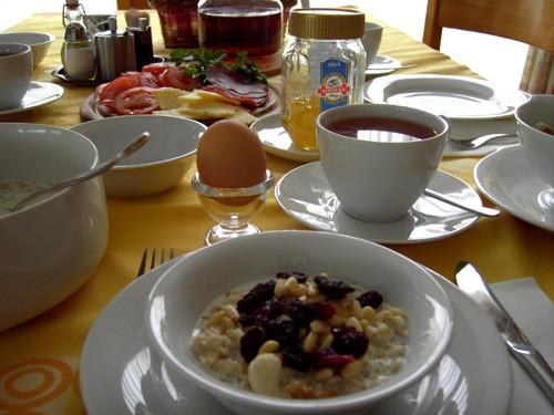 Наш сегодняшний завтрак