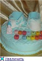 торт Скуби-Ду торт голубые кроссовочки с малышом торт поляна лилий - 5