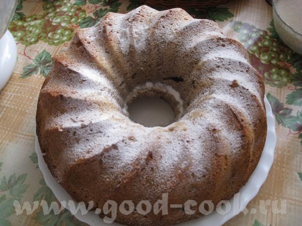Сливочно-ореховый кекс с халвой Ссылка на первоисточник
