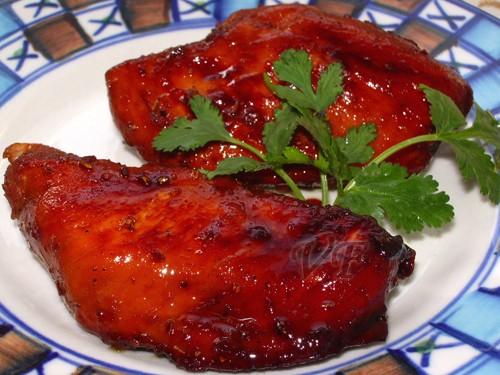 """Куриная грудка с корочкой Источник:""""Приятного аппетита"""" 4 куриных филе 100 г сахарного песка соль,п..."""