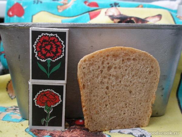 простой хлеб закваска