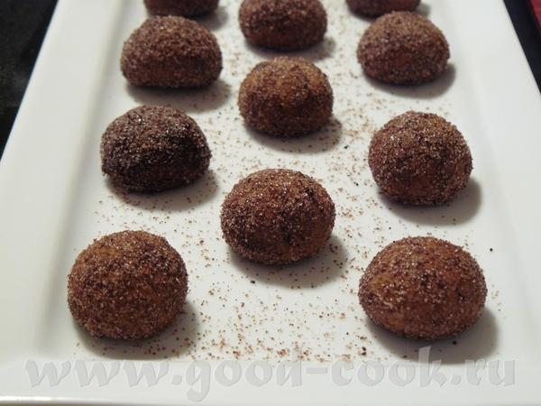 Шоколадные шарики - Schokobдlchen 50 г шоколада(Kuvertьre), я - шок