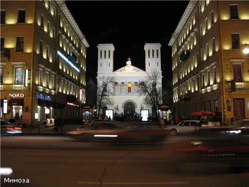 Праздничный Невский Евангелическо-лютеранская церковь святого Петра (самый канун Рождества - 2