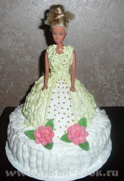 Девочки, отчет по торту для внученьки