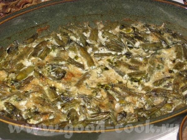 Лобио (Фасоль, запеченная по-грузински) 1 кг стручковой фасоли 2 луковицы 5-6 стол