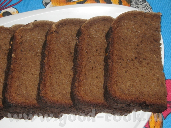 """Бородинский хлеб """"Тот самый"""" в хлебопечке"""