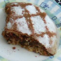 - Последними двумя(я использовала только один) покрыть пирог и края его засунуть под самый низ, ста... - 2