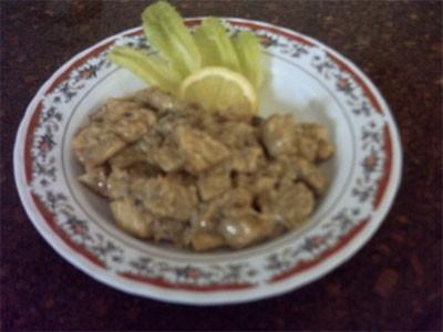 Сегодня готовила курицу в маринаде по рецепту Веры,курицу подавали с картофелью фри и салатом Нурик... - 2