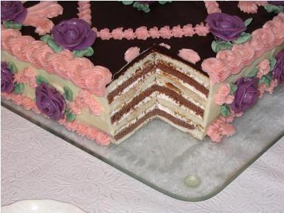 """Торт """"Мишка"""" Не знаю, почему этот торт так называется, но его рецепт я нашла в своём самом первом к... - 2"""
