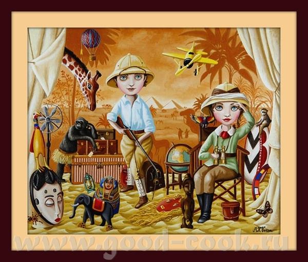 Galerie Париж специализируется на наивном и примитивном искусстве для продажи и лицензии во всем ми... - 4