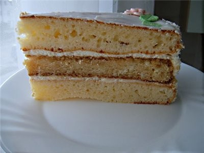 Принесла тебе спасибку за торт Сметанный