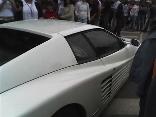 """Вчера у нас проходил слёт владельцев """"Ferrari"""""""