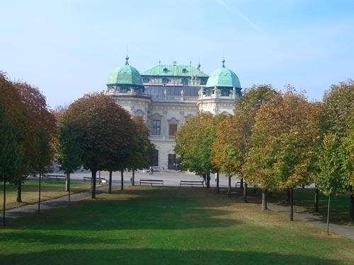 Это одна из главных достопримечательностей Вены Бельведер