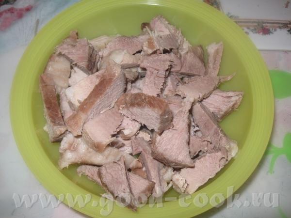 В бульон, оставшийся после отваривания мяса, добавляем фасоль и варим ее, практически, до готовност... - 4