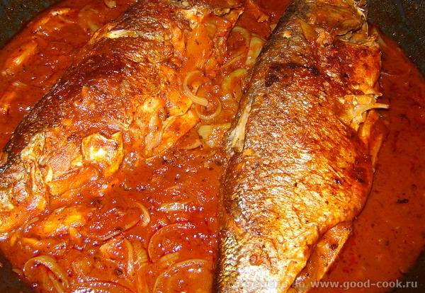 Pescado en escabeche Рыба в маринаде продукты: Рыба - 700г Соль и перец черный в зернышках Уксус (5... - 2
