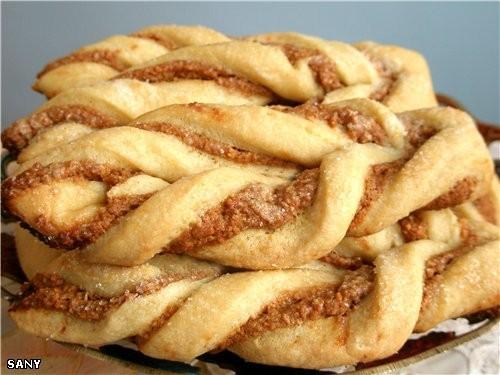 ПЕЧЕНЬЕ «ЕЛОЧКИ» Тесто 250г творога 250г муки 250г холодного масла или маргарина 0,5 ст сахарной пу...