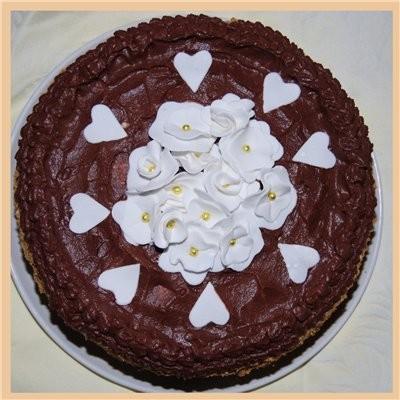 к выходным простенький тортик