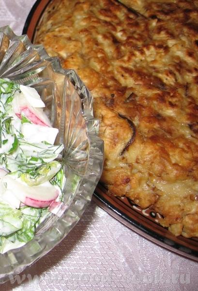 А это наш первый седер: Бабка и весенний салат Язык и оливье