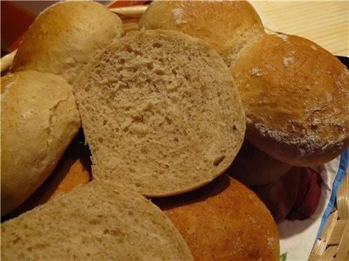 Вкусные, мягкие, быстрые в приготовлении булочки